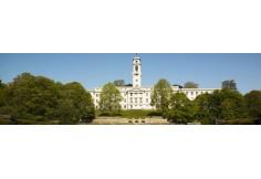 University of Nottingham Nottingham Nottinghamshire Institution